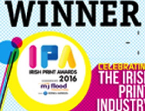 Another Great Win for Watermans Printers at the Irish Print Awards 2016